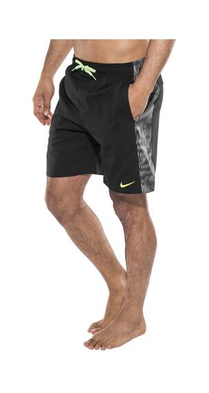 "Nike Swim Techno Tear Splice 7"" Volley zwembroek Heren zwart"